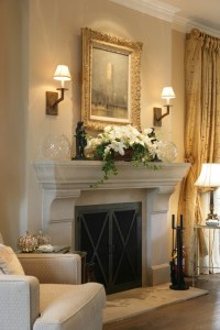 Fireplace Mantel Designs in Simple and Sophisticated Style ...
