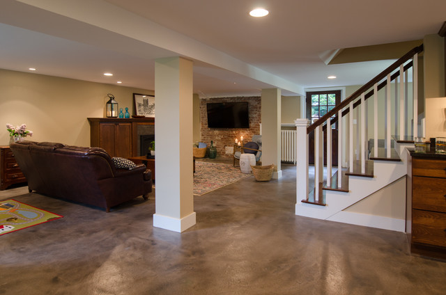 Painting Basement Floor Painting Finishing and Covering  Ideas 4 Homes