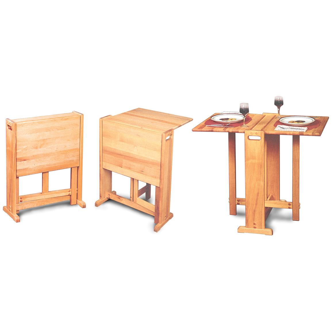 fold away single chair bed living accents folding adirondack clever dining table to save more space of small room | ideas 4 homes