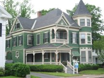 Queen Anne Home Style Victorian House