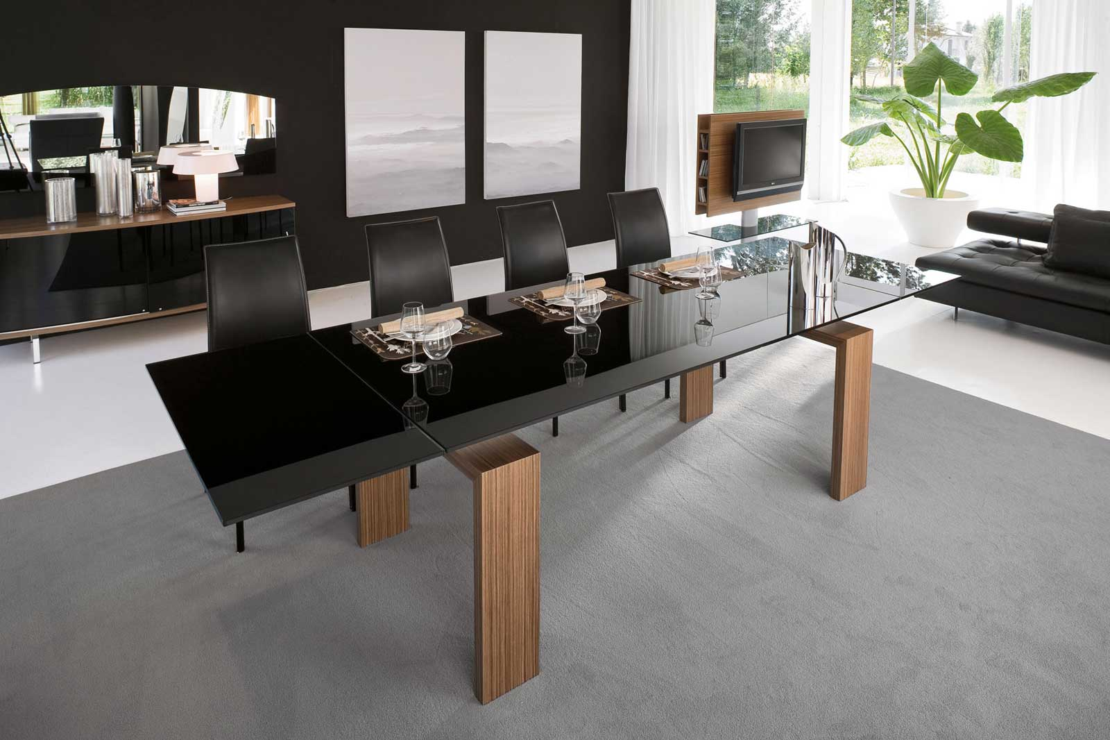 Stylish Contemporary Dining Table Ideas Showing Simple Designs  Ideas 4 Homes