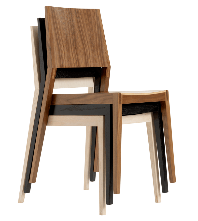 Stacking Chairs A SpaceSaving Solution  Ideas 4 Homes