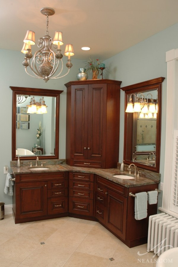 Space-Efficient Corner Bathroom Cabinet for Your Small ...