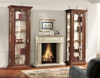 Beautiful Wooden Cabinet with Glass Doors for Your Storage ...