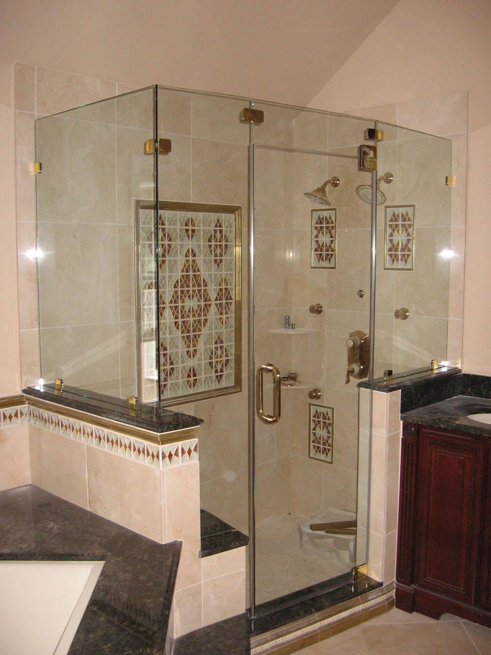 how much is kitchen cabinet installation modern pendant lights framed vs frameless glass shower doors options | ideas 4 homes