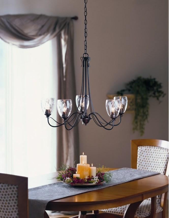 Spectacular Glass Chandelier Shades For More Elegant Interior Ideas 4 Homes