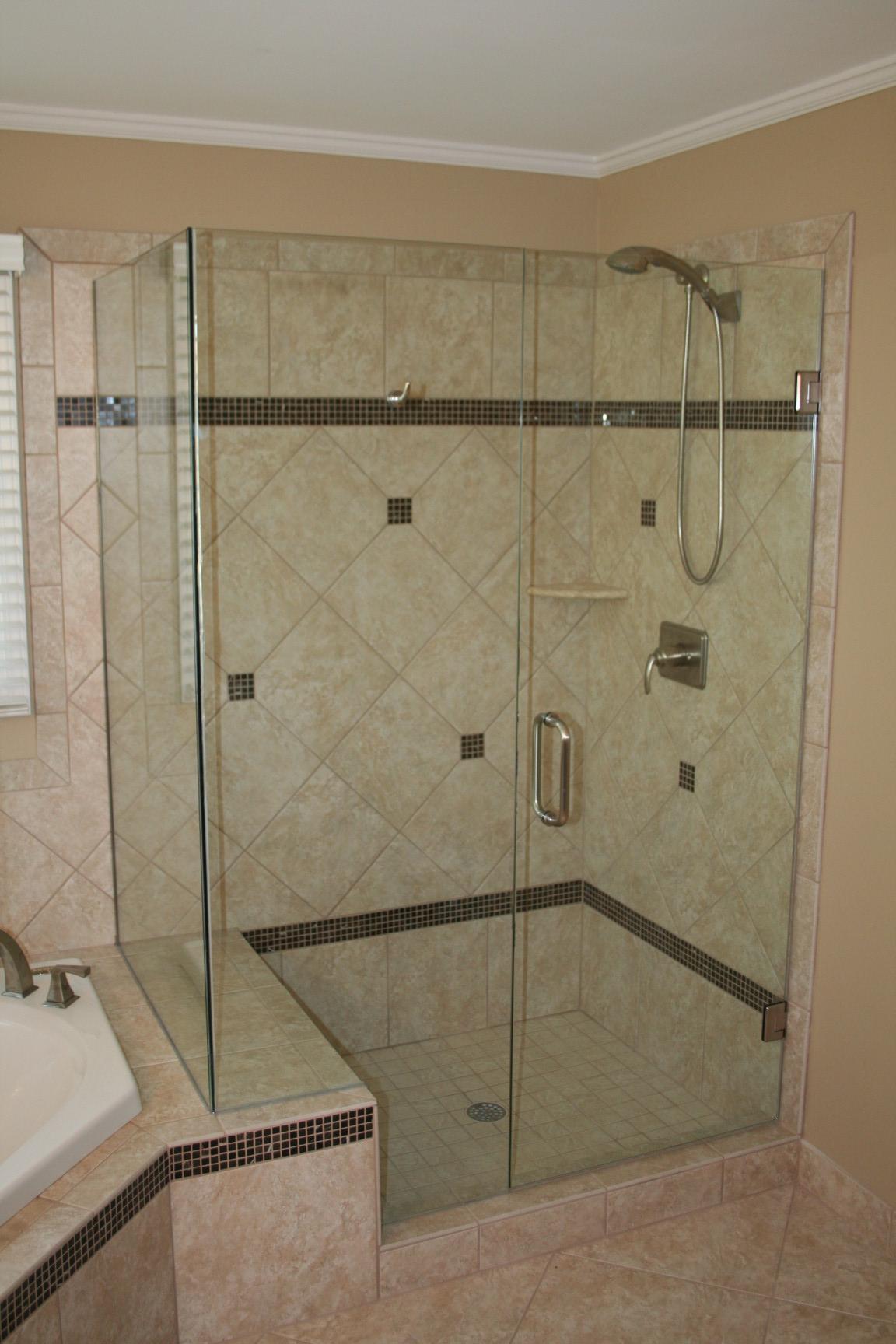 how much is kitchen cabinet installation corner sinks for sale framed vs frameless glass shower doors options | ideas 4 homes