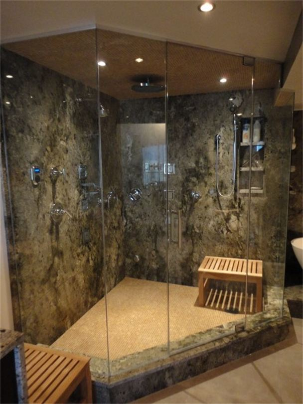 All you need to know about steam showers  Ideas 4 Homes