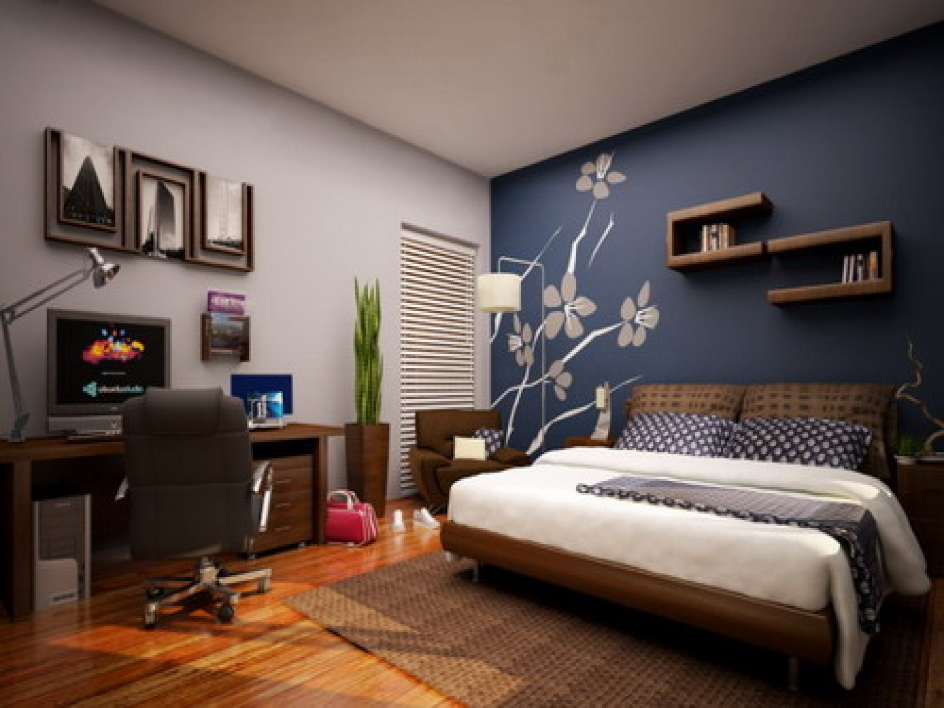 Use these tips and tricks to make your cozy home feel spacious and comf. Cool Room Painting Ideas for Bedroom Remodeling   Ideas 4