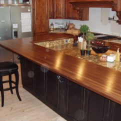 Wood Kitchen Counters Memory Foam Mat Costco Natural Wooden Countertops For A Trendy Look Ideas 4 Homes Amazing Long Design Close Near Simple Black Chair