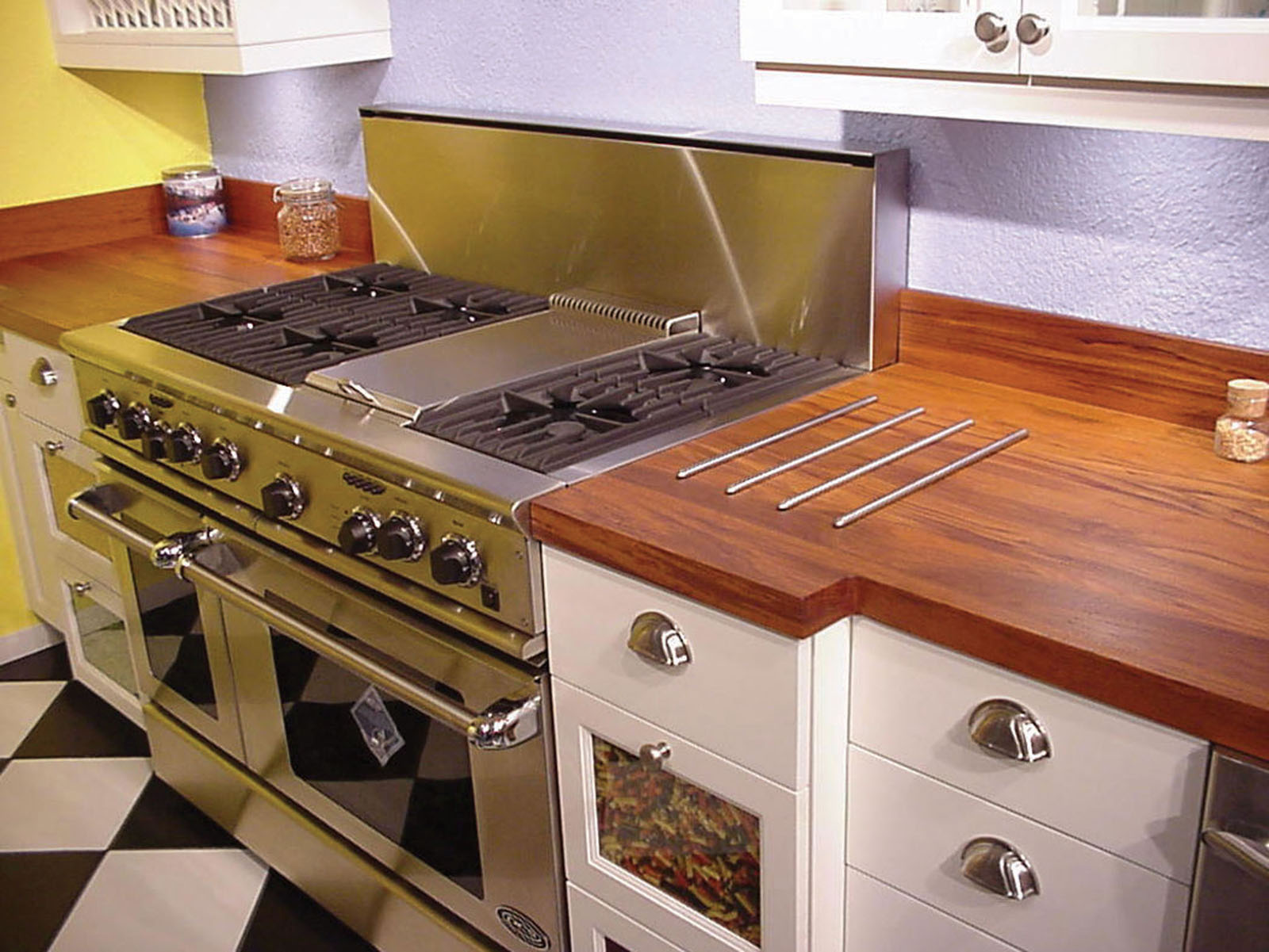 wood kitchen counters utility table natural wooden countertops for a trendy look