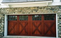 Installing Carriage Style Garage Doors Improve