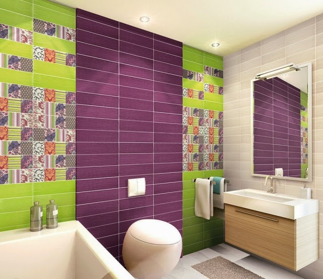 Super Bright Bathroom Ideas with Splash of Yellow  Ideas 4 Homes