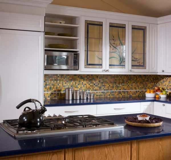 Elegant Kitchen Cabinet Glass Doors To Refresh The Interior Ideas