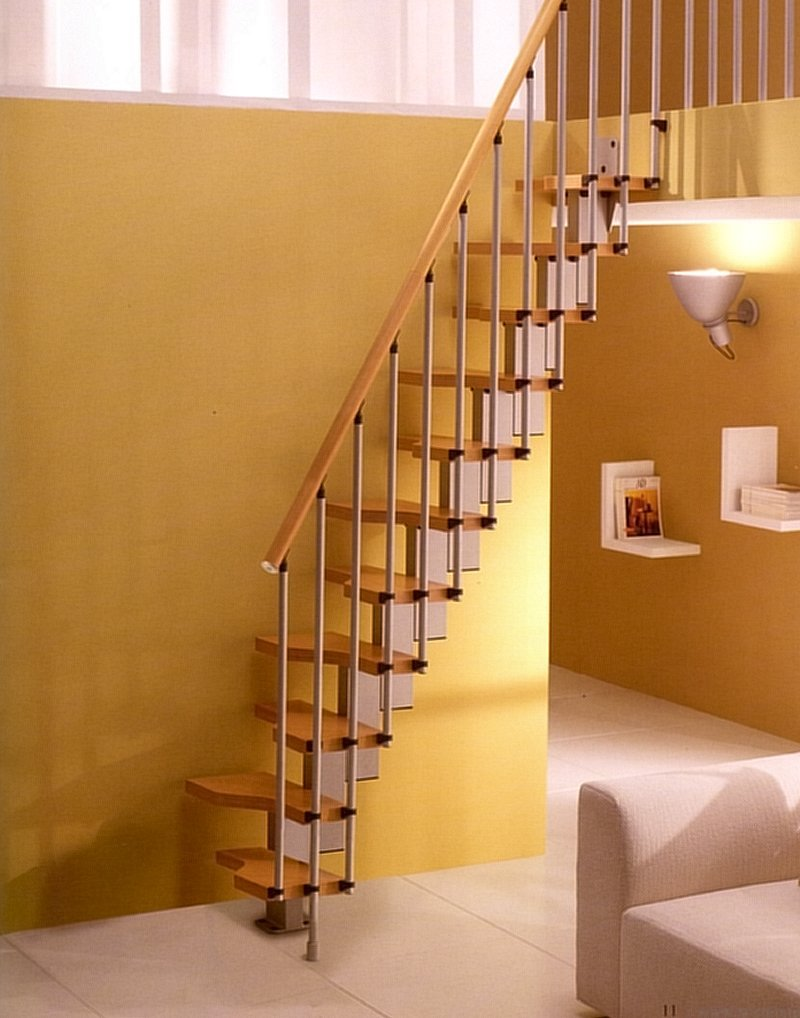9 Ideal Staircase Ideas for a Small Interiors  Ideas 4 Homes