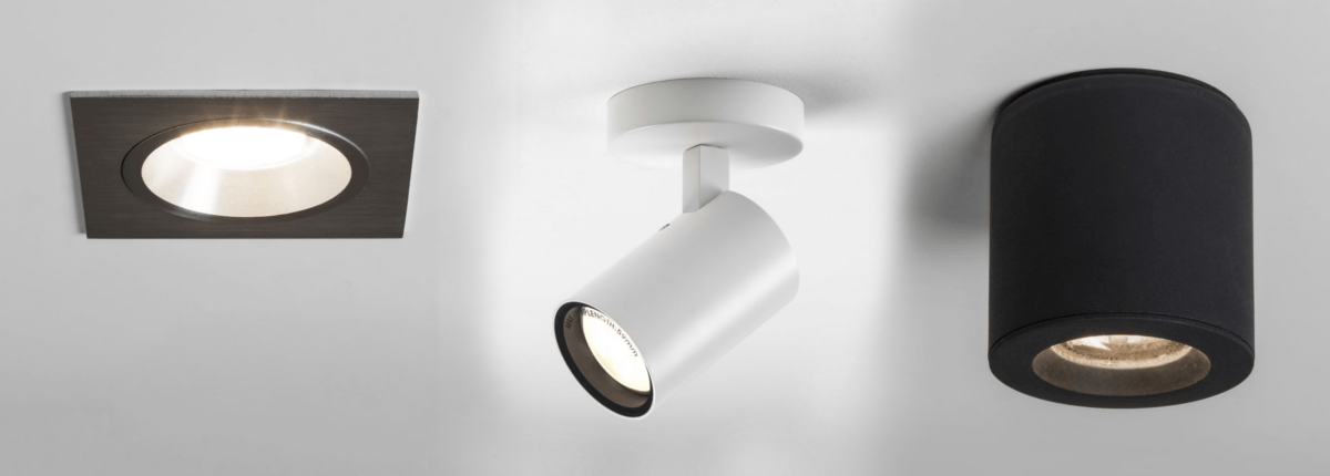 Ceiling mounted spot lighting Home This Latest Trend Is Spin On Previous Popular Trend Of Adjustable Surface Mounted Spotlighting But Without The Adjustable Means Globalmarketcom Surface Mounted Led Downlights Guide Ideas4lighting
