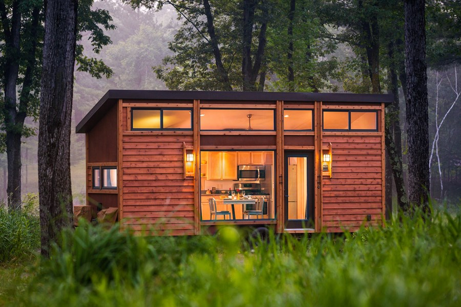 House for travel by Escape RV