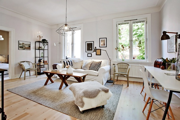 Scandinavian Classic Apartment