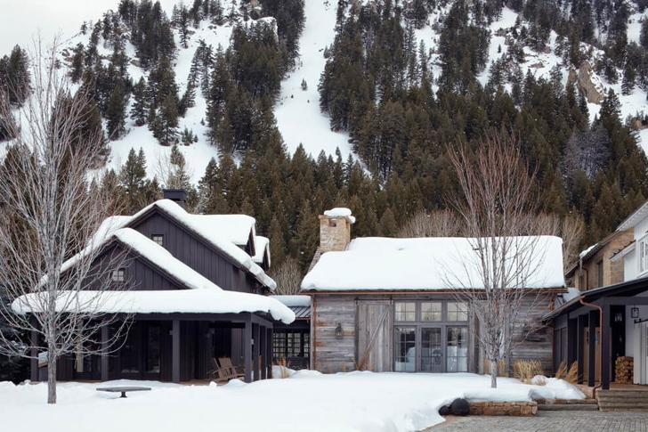 Mountain Chalet in Idaho