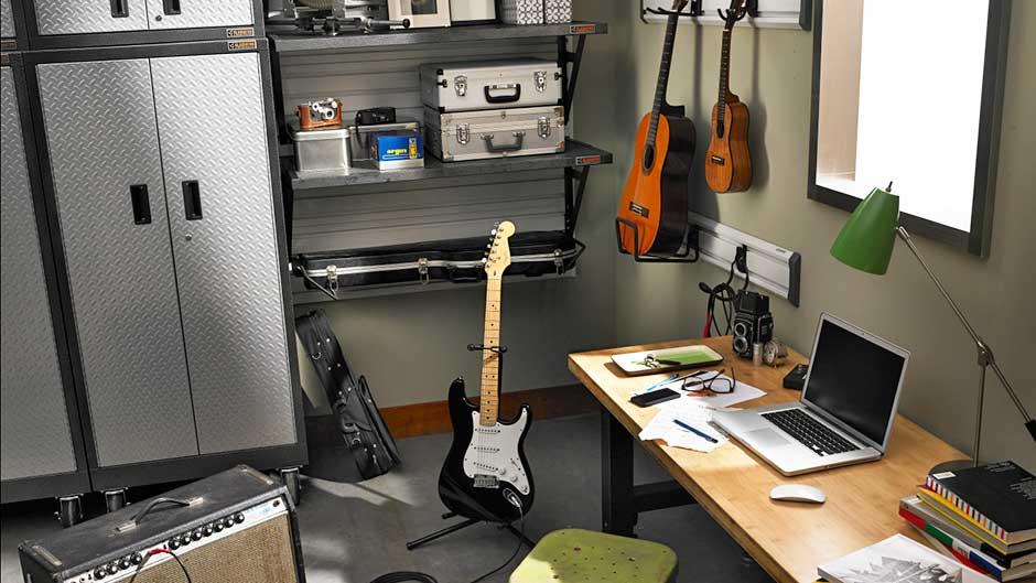 Garage Home Office Organization