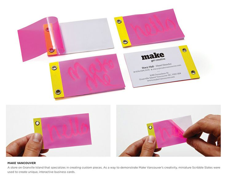 30 Creative and Unique Business Card Examples