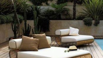 Moderno Mueble De Exterior En Tejidos Naturales Ideas Casas