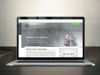 Tax Accountant Website Design  IDEASEAT