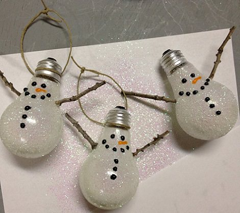 Ideas caseras para la decoracin de Navidad