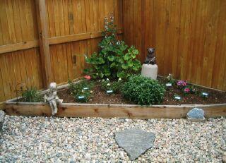 The Triangular Garden