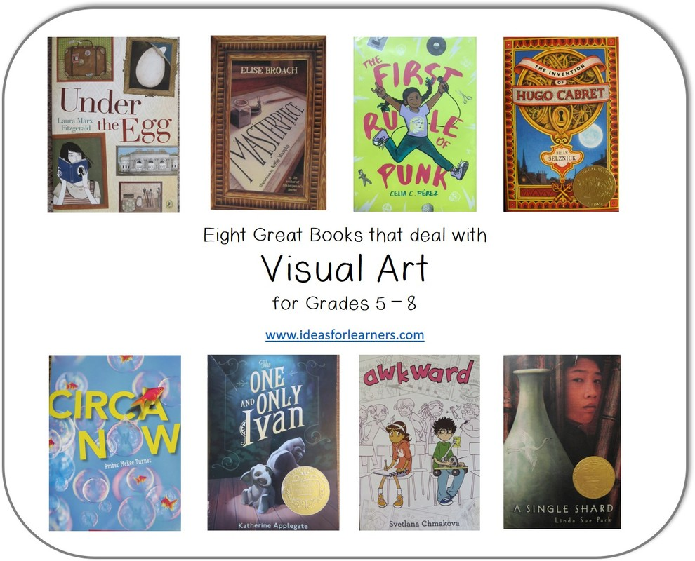 Eight Great Books About Visual Arts - Ideas for Learners