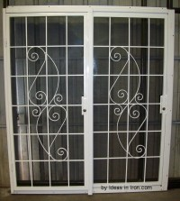 Security Screen Doors: Metal Security Metal Sliding Metal ...