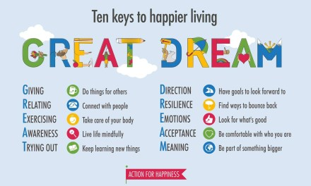 Greater Dreams for More Happiness