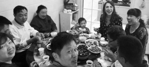 Familia de la Sra. Chen_Changsha China (Ideas on Tour)