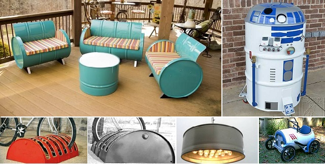 21 Gallon Metal Drum Project Ideas  Ideas to Love