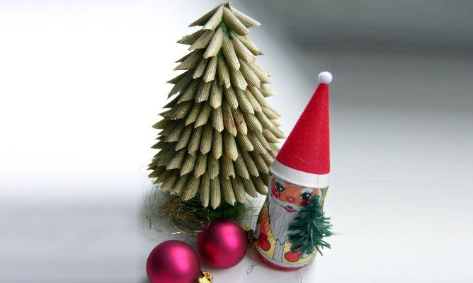 Arboles De Navidad Reciclados Ideas Verdes
