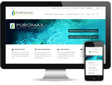 Puromax Web Design