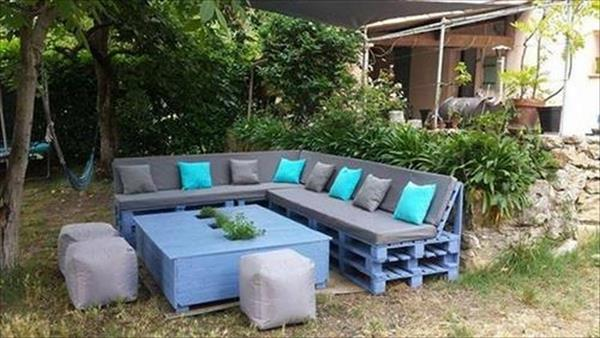 Different And Amazing Pallet Patio Furniture Ideas Ideas With