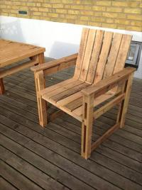 DIY Recycled Pallet Chairs Ideas | Ideas with Pallets