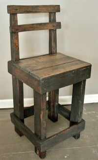 DIY Wood Pallet Stool Chair Ideas