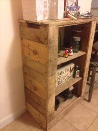 DIY Reprocessed Pallet Storage Shelves | Ideas with Pallets