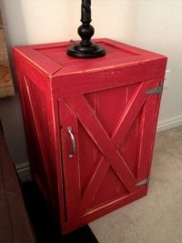 Interesting DIY Pallet Nightstand Projects | Ideas with ...