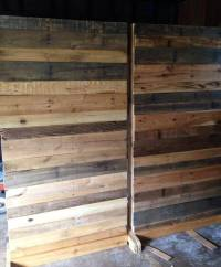 How to Make Wooden Pallet Room Divider | Ideas with Pallets