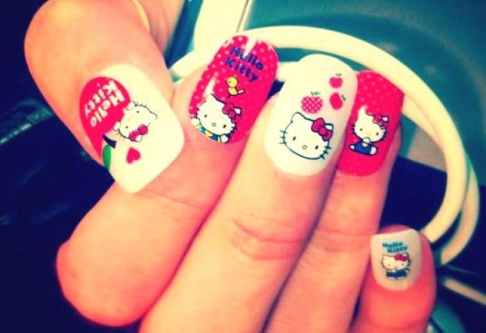 Uñas Decoradas Con Diseños De Hello Kitty Ideas Consejos