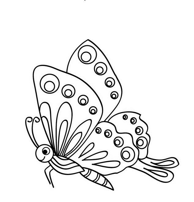 Dibujos Para Colorear De Mariposas Monarcas « Ideas & Consejos