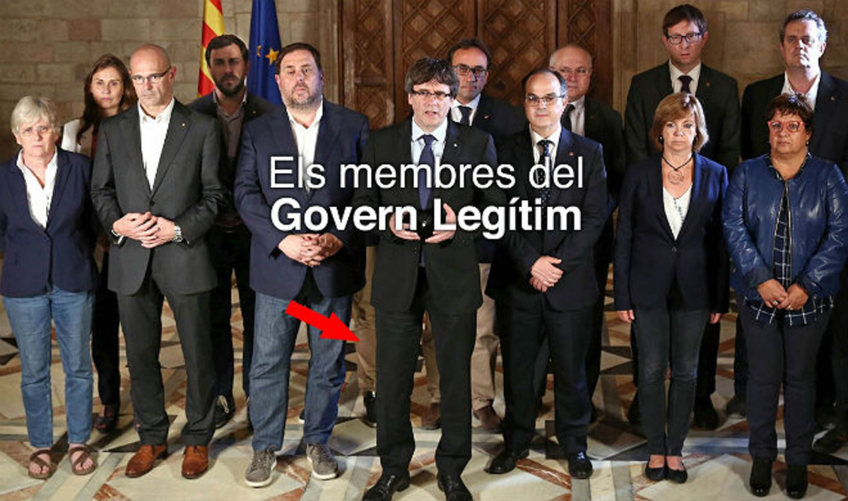 EL GORRO DE CLEMENTIS Y LAS PIERNAS DE SANTI VILA