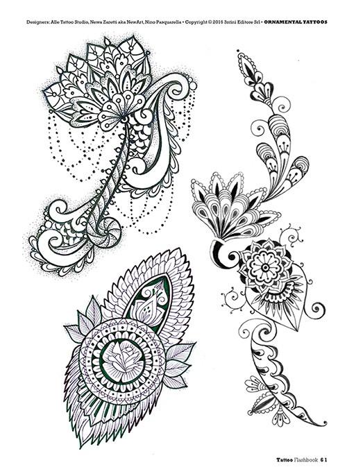 Tattoos Gallery: Female Ornamental Tattoo