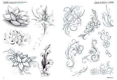 Flores Tattoo 2