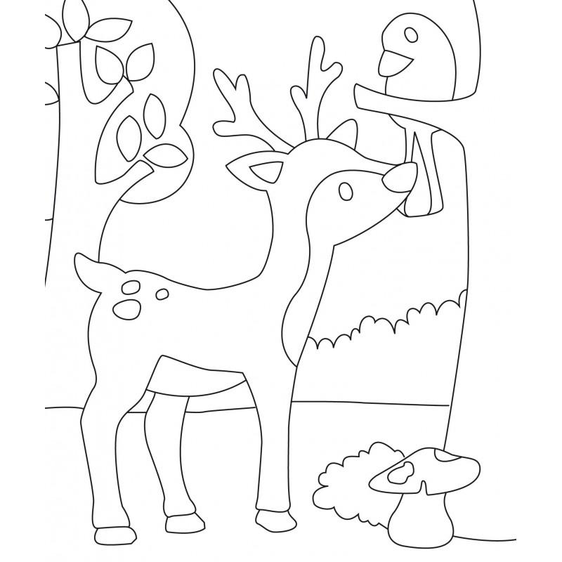 kit créatif enfant 3 cartes sable foret