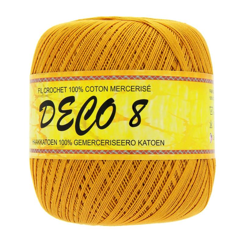 bobine de fil pour crochet deco 8 coton