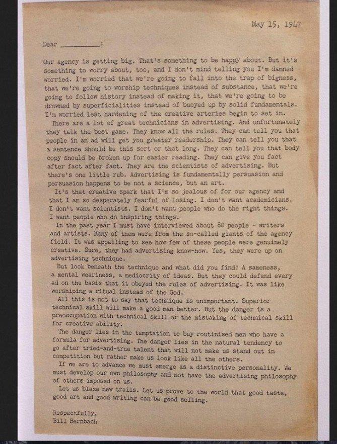 1947 creativity letter full